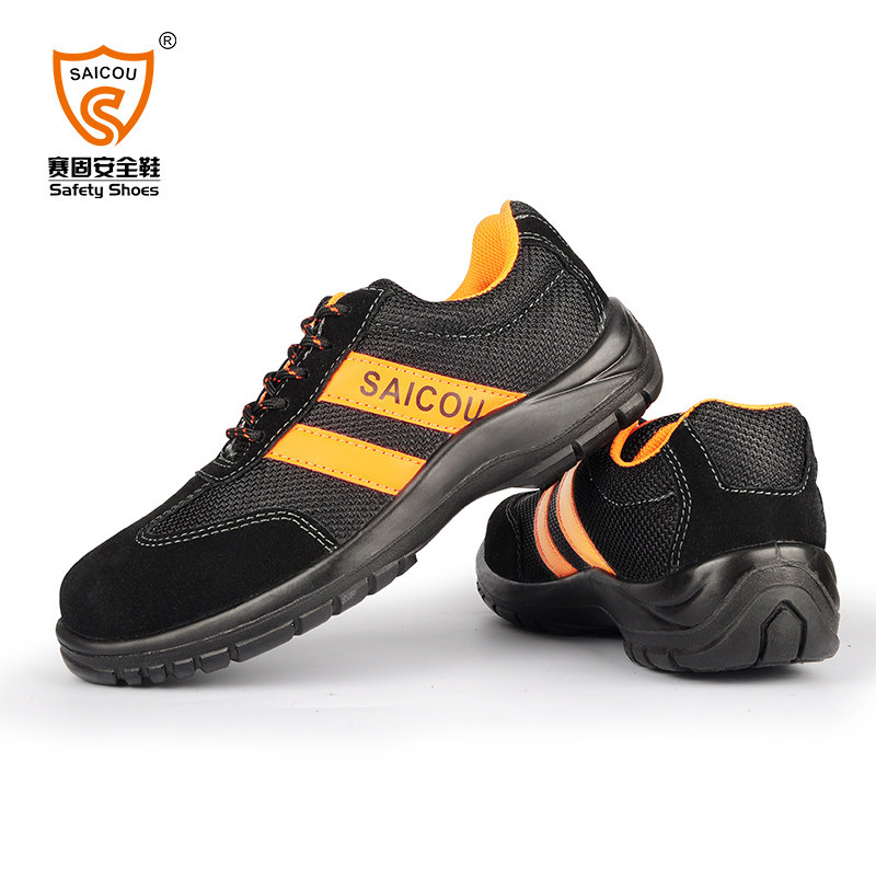 Men's Anti Smash Steel Toe Safety Shoes Puncture Proof Safety Footwear Construction work boots for men best work safety footwear waterproof anti slip overshoes for sea food shop sushi shop men s medical nurising hospital shoes