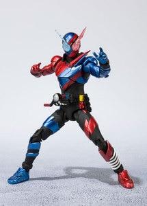 Image 5 - BANDAI figura Original de Tamashii Nations S.H., figura de motociclista Kamen Figuarts/figura de acción shf kamen Rider Build Rabbit forma de tanque