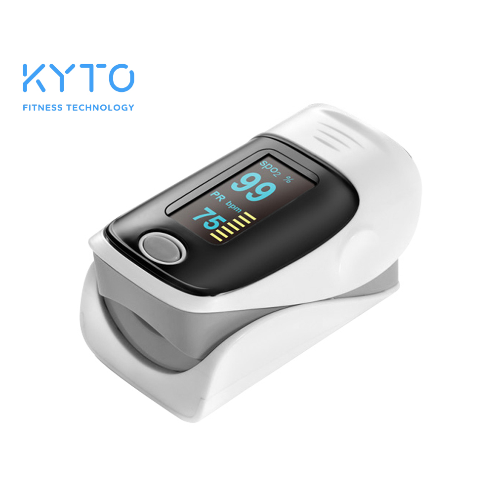 Fingertip Blood Oxygen Pulse Rate Oximeter Monitor Best For Gym Home Exercise Fitness Equipment