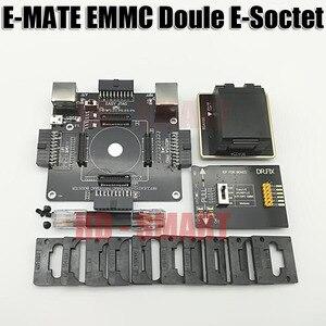 Image 3 - E メイトボックス emate ボックスダブル e ソケットサポート BGA153 、 169,162,186,221,529,100,136,168,254 ufi ボックス、メデューサ簡単 jtag ボックス