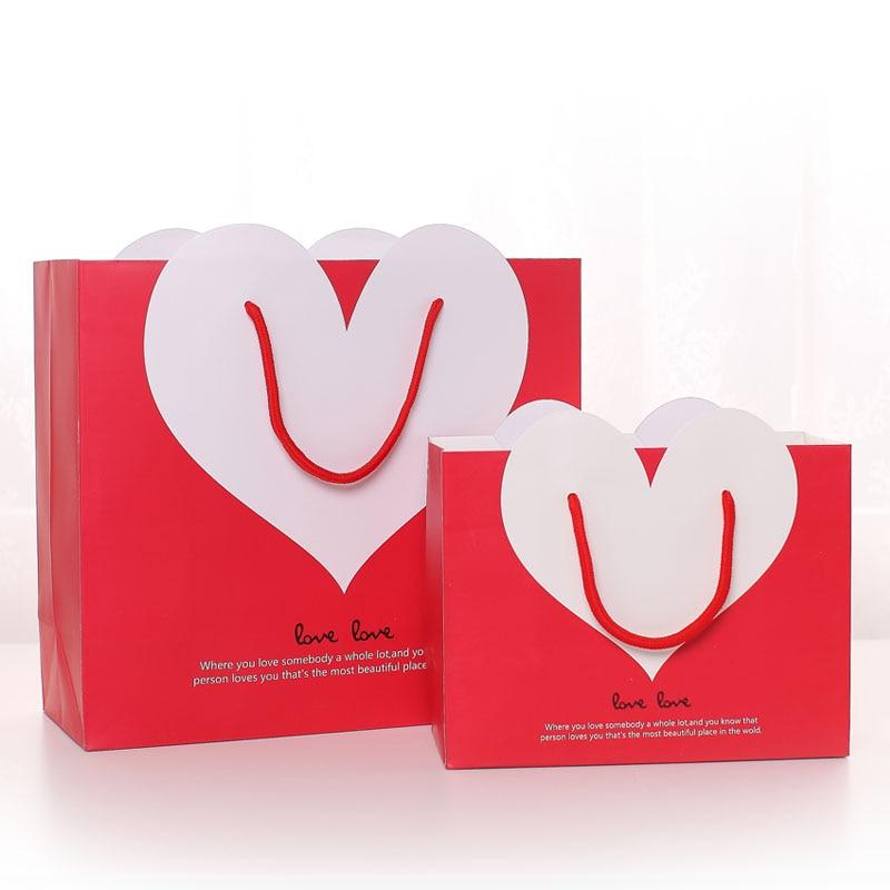San Su Enviar De Novia Bolsas Mano Valentín Regalo A 35j4RAL