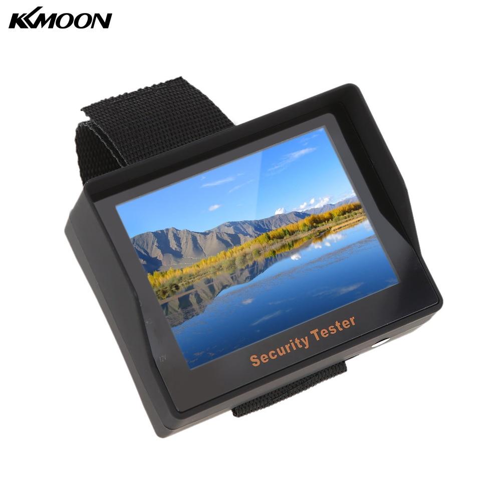 imágenes para Nueva Llegada de 3.5 pulgadas TFT LCD Cámara de Vigilancia de Seguridad CCTV Tester Portable Monitor CCTV Tester Probador Probador Video