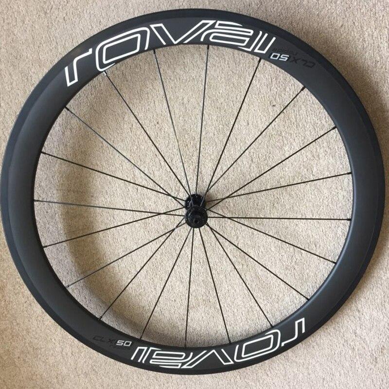ROVAl CLX50 ruedas pegatinas para bicicleta de carretera 700C bicicleta roval de carbono cubierta etiqueta traje para 50mm Profundidad de dos ruedas calcomanías
