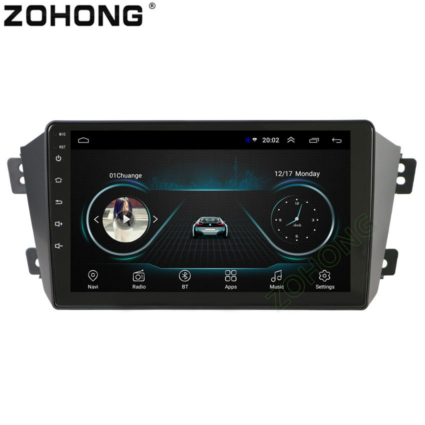 9 inch 2 5D Android 8 1 car dvd player for Geely GX7 EX7 Emgrand GX7