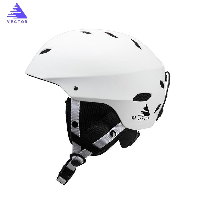 VECTOR Snowboard Ski Helmet CE Certification Adult Windproof Ski Helmet For Men Women Skating Skateboard Snow Sports Helmets