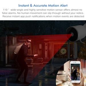 Image 4 - Tuya Smart life cámara IP de seguridad para el hogar, 1080P, visión nocturna, Audio bidireccional infrarrojo