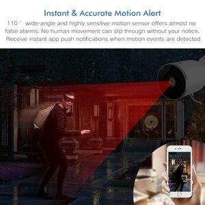 Image 4 - Tuya 똑똑한 생활 WiFi IP 사진기 1080P 가정 안전 옥외 사진기 야간 시계 적외선 양용 오디오