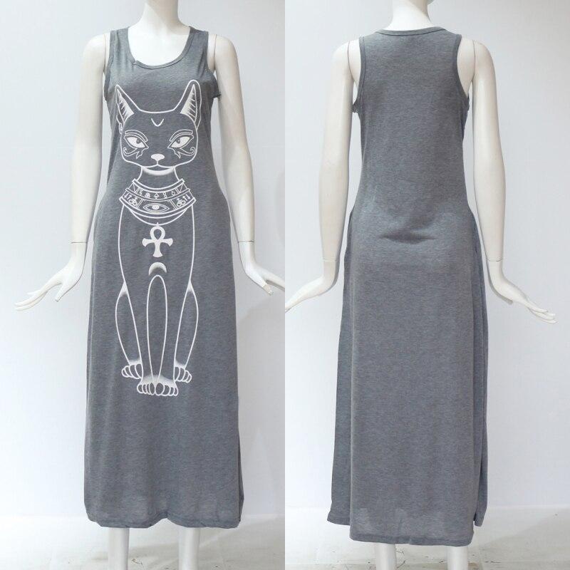 Girls Cat Dress Boho Style
