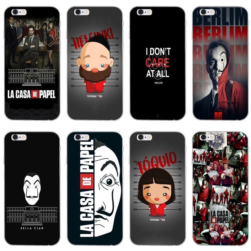 Phone-Case Tv-La-Casa-De-Papel Xiaomi Redmi 5-Plus 6 For S2 5-plus/6a/4a/.. F1 Soft Spain
