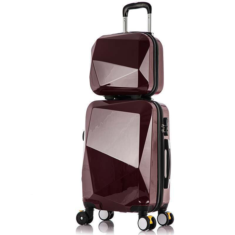 Travel Suitcase Set Rolling Luggage Set Spinner Trolley Case 20