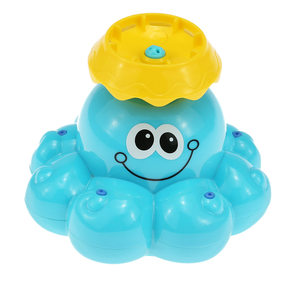 Baby Bath Toy Mini Spray Water Octopus Shape Bathroom Shower Bathtub Water-spraying Toy Bath Play Water Sprinker Toys ...