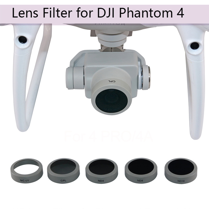 Lens Filter for DJI Phantom 4 Pro 4A Advanced Drone UV CPL ND4 ND8 ND16 HD Filter Camera Lens DJI Spare Parts Drone Accessories купить в Москве 2019