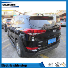 Hot sale Flexible aluminium alloy side step running board Electric pedal for Tucson 2015