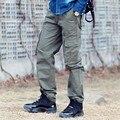Летом стиль военный камуфляж брюки-карго 2016 новых мужских комбинезоны мульти-карман за пределами поезд камуфляж брюки