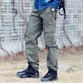 Verano estilo militar pantalones de camuflaje de carga pantalones de 2016 nuevos hombres de pantalones de camuflaje overoles multi-bolsillo exterior tren