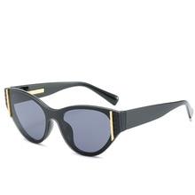 Vintage Sunglasses Women Cat Eye Trend Ladies Outdoor Personality Designer Brand Luxury Eyewear