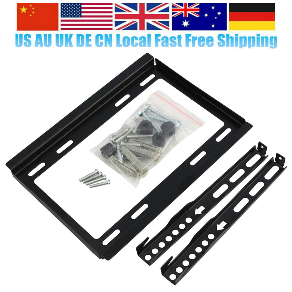 Smart Lcd Led Tv Wall Mount Bracket Support For 14 19 22 23 26 27 28 29 32 Inch Television Holder Stand Oversea Shipping