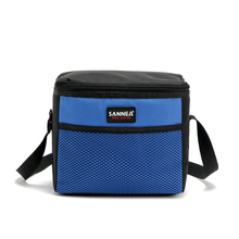 Portable Travel Picnic Necessity Kit Thermal Insulated Tote Lunch bolsa termica Bag Cooler Lunch Box Handbag