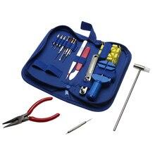 16 Pcs chaves de Fenda Wachmakers Abridor Pinça Ligação Primavera Bar Removedor Relojoeiro Ferramentas kit de ferramentas de relojoeiro pará orologi