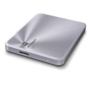 Image 4 - WD 3TB כסף שלי דרכון Ultra מתכת מהדורה נייד חיצוני כונן קשיח USB 3.0 WDBEZW0030BSL