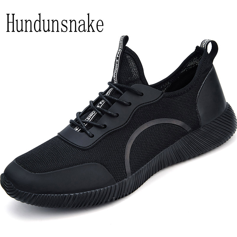 Hundunsnake Black Sneakers Men Barefoot Shoe Jogging Male Shoes Sport Adult Running Shoes For Men Krasovki 2018 Gym Athletic T86