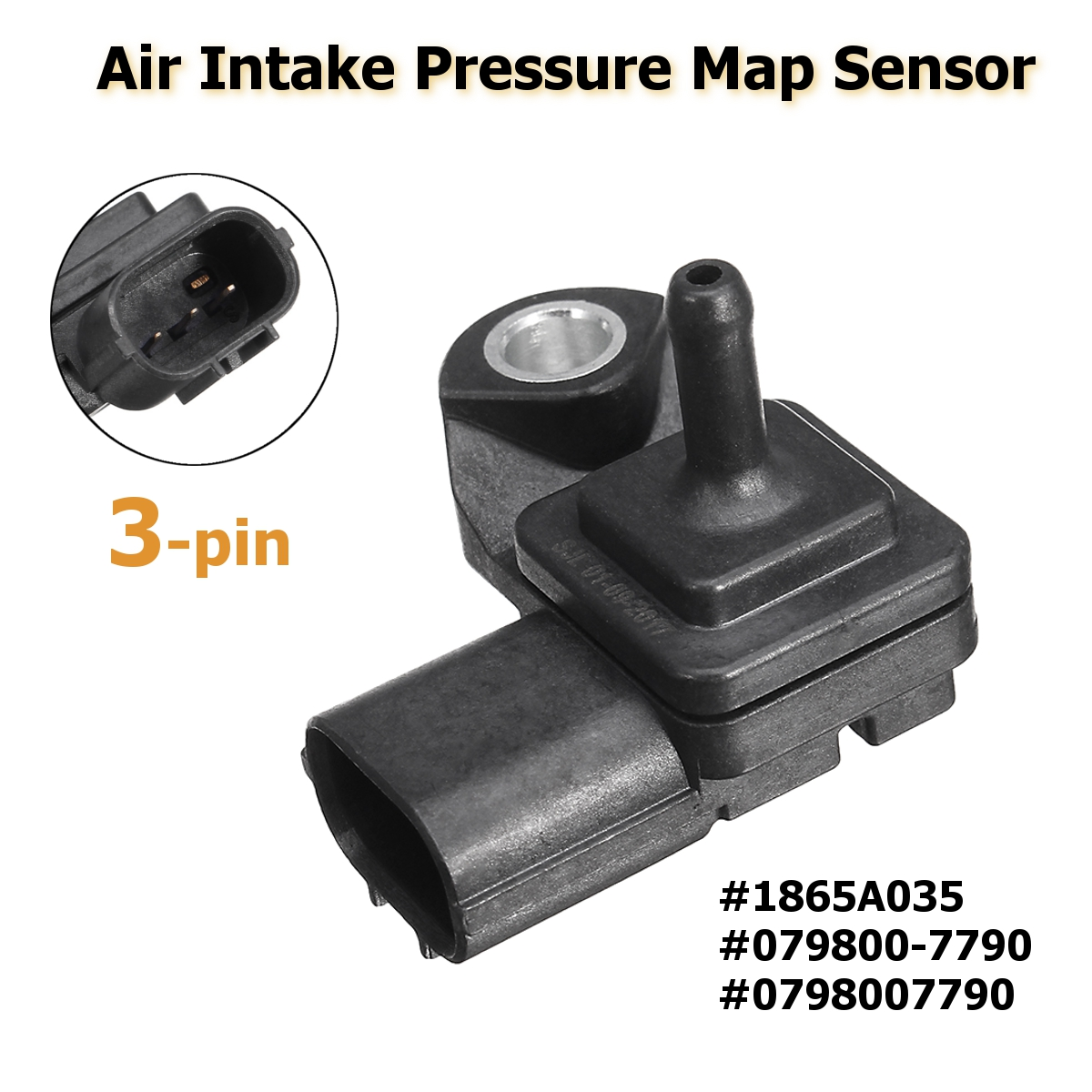 #1865A035 #0798007790 3 Pin Air Intake Boost Map Sensor Für Mitsubishi/Pajero/Montero V88W V98W L200