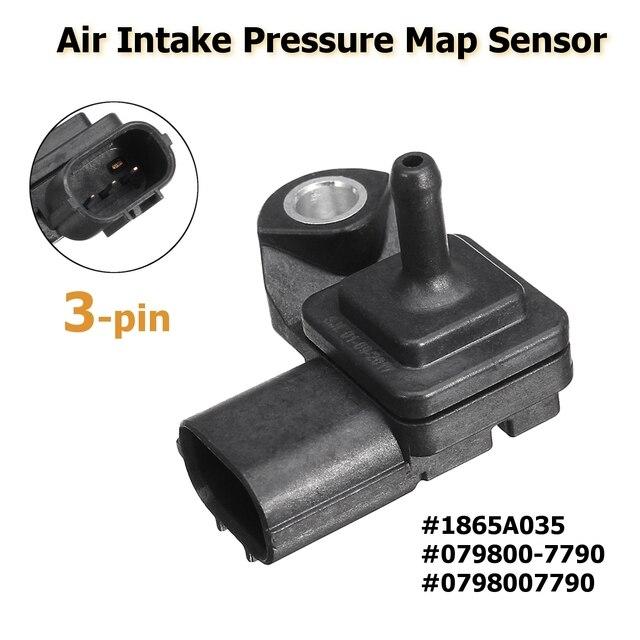 1865A035 0798007790 3 Pin Air Intake Boost Pressure Map Sensor For Mitsubishi Pajero Montero V88W V98W L200 Car  Accessories
