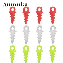 Anmuka 100pcs Carp Pop Up Peg Fishing Screws 11mm Bait Bait Holder of Fishing lure Artificial Carp Fishing Pegs For carping rigs