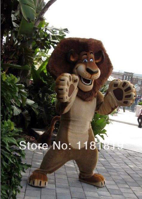Костюм талисмана льва, костюм талисмана на заказ, карнавальный костюм аниме, комплект Маскарадного костюма