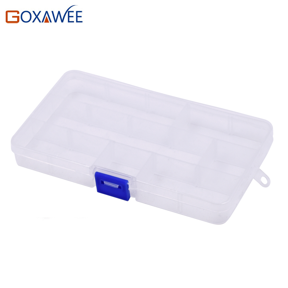 все цены на 1pc Practical DIY Tools Packaging Box 10 Slots Electronic Spare Part Removable Storage Box Screw Jewelry Sewing plastic Tool Box онлайн