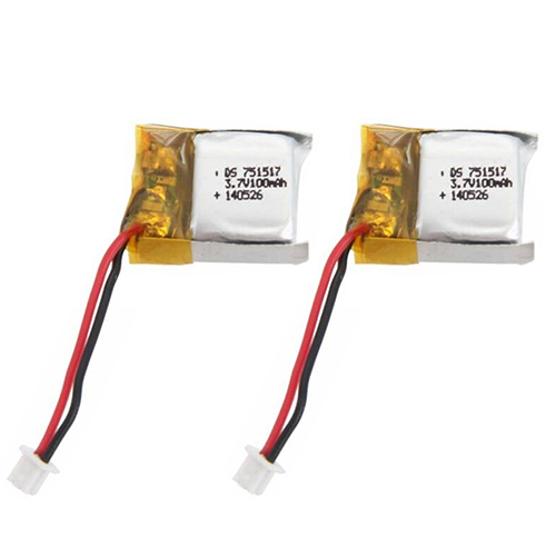 3.7V 100mAh Spare Battery for RC Cheerson CX-10 Quadcopter 6R7N