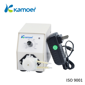 Kamoer KCP Plus Laboratory Peristaltic Pump With Adjustable Knob And Power Adapter Used For Experiment Apparatus