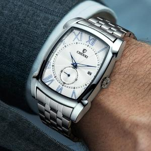 Image 1 - Mannen Horloges CHENXI Brand Quartz Horloge Klok Voor Man Luxe Unieke Stijl Nieuwe Horloges Relogio Masculino Militaire Polshorloge
