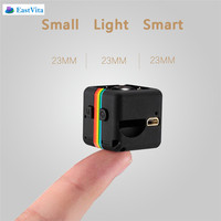 EastVita SQ11 Mini Camera 1080P HD Night Vision mini Camcorder Mini DV DVR Video Recorder with 120 degree Wide Angle
