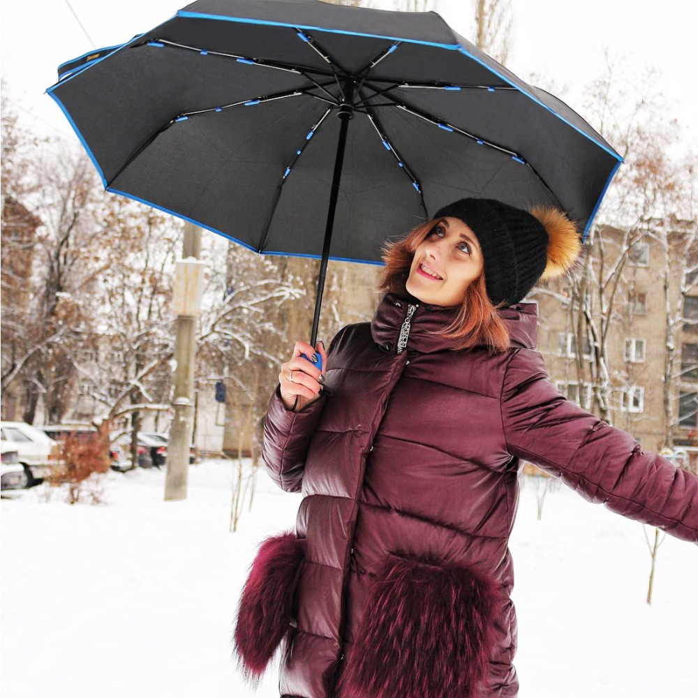 SUSINO Rain Windproof Travel Umbrellaзонт Compact Lightweight Auto Open Close Combination Color Adults Women's Umbrellas 163