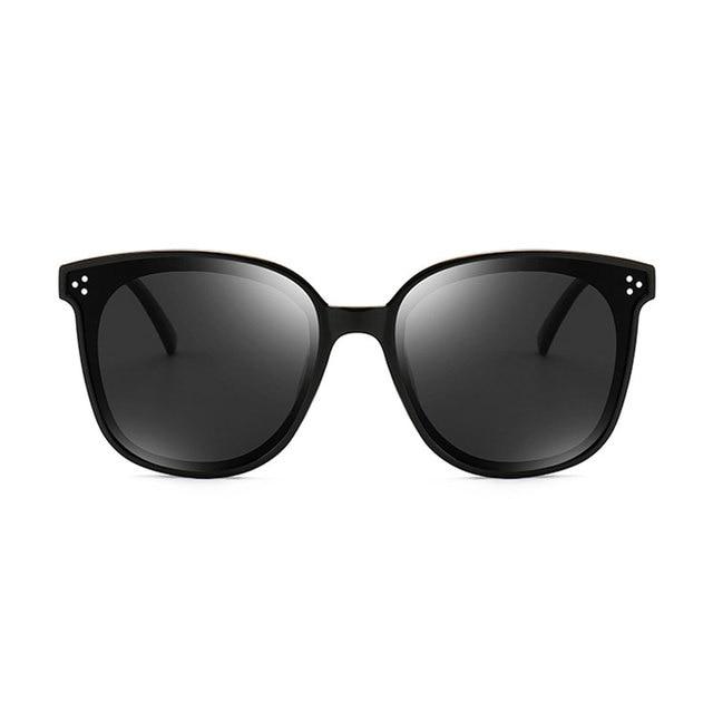 HUHAITANG Luxury Square Oversized Sunglasses Women Fashion High Quality Sun Glasses Brand Designer 2019 Vintage Ladies Sunglass 1