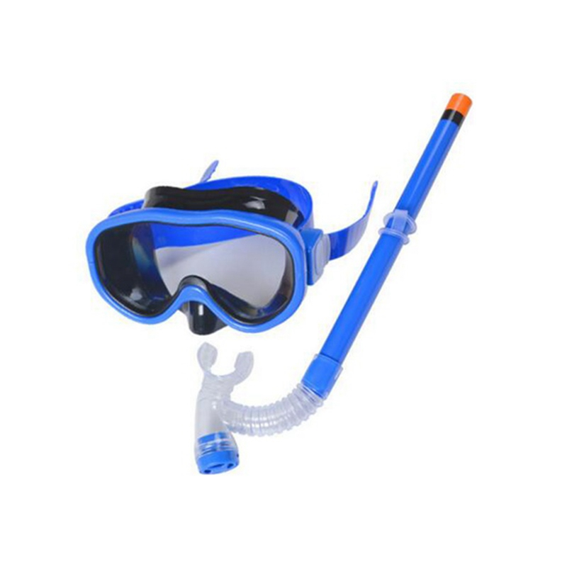 2019 Diving Kids Children Diving Mask Breathing Tube Set Swimming Snorkel Goggle Glasses Kit Safe And Protective Performance