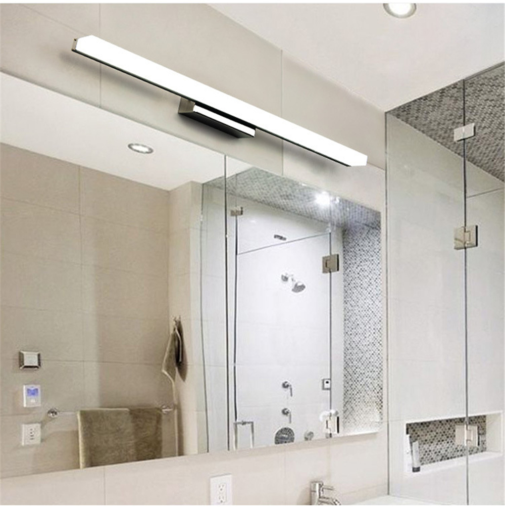 Kuo factory direct waterproof and anti fog bathroom bathroom mirror lamp wall lamp simple modern mirror headlamp LED lamps in Vanity Lights from Lights Lighting