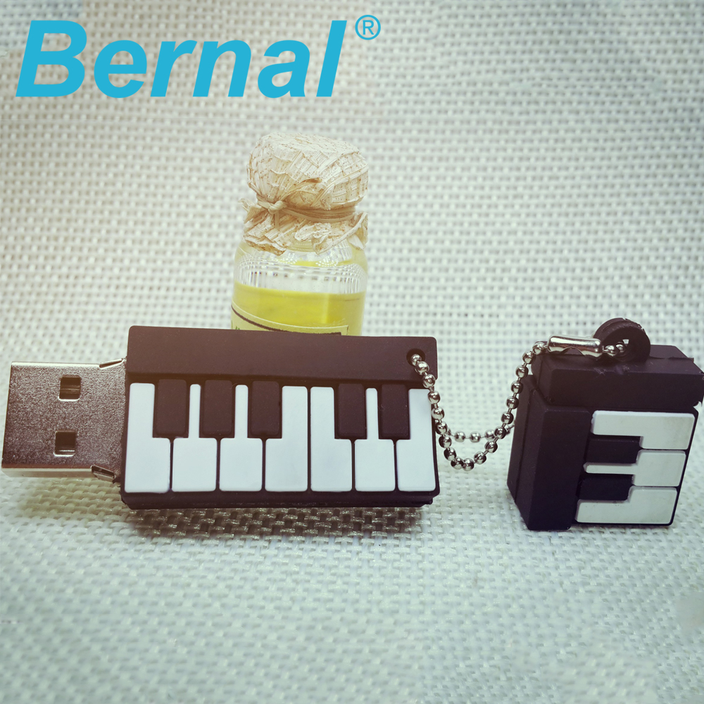 8GB 16GB 32GB piano usb flash drive girls cartoon mini usb flashdrive Pendrive Student gifts USB pen drives 2.0