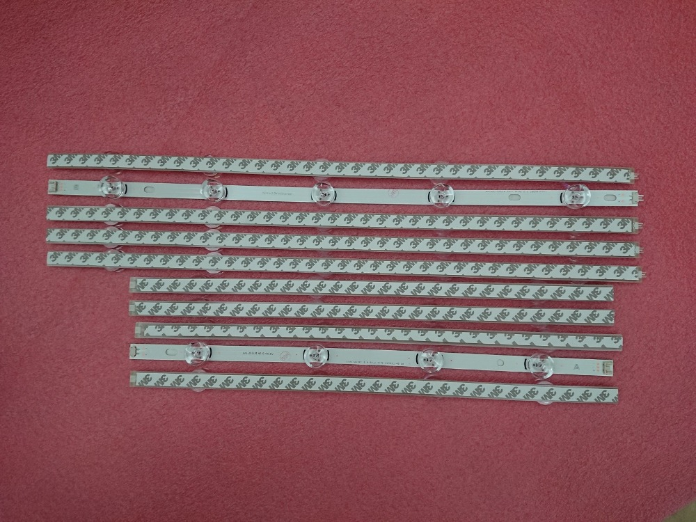 5set=50 PCS  LED Backlight Strip For LG 50LB 50LB650V Innotek DRT 3.0 50 A B 6916L-1736A 1735A 6916L-1978A 1979A