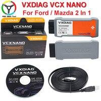 Newset USB Wifi Version VXDIAG VCX NANO For Ford Mazda 2 In 1 With IDS V100