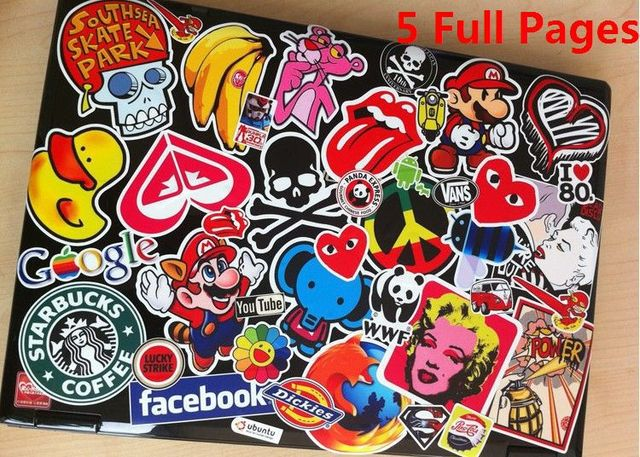 3m sticker 5 full pages bag custom selectable full page 20cm