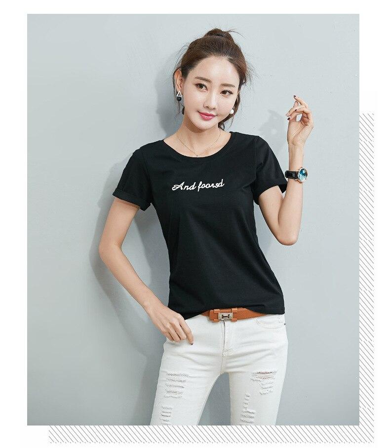 Camiseta VOGUE letras impresas amigos Tv camiseta Casual manga corta Camisetas cuello redondo