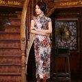 Banquet Bride Wedding Cheongsam Slim Improved Daily Long Qipao Dress Traditional Chinese Oriental Dresses Robe De Soiree Qi Pao