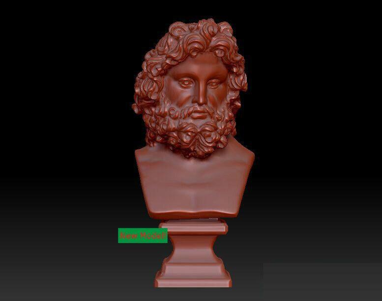 3D Model Relief STL Models File Format Goddess Of Mercy Zeus