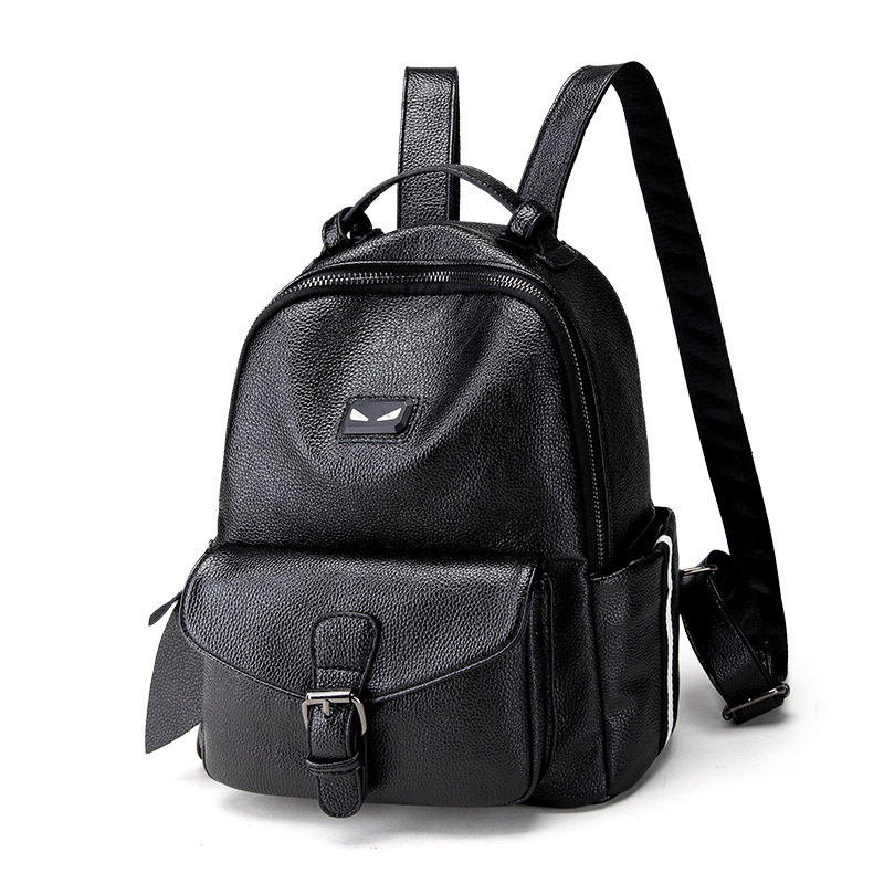 Fashion Simple Genuine Leather backpack women luxury brand backpacks little monster decoration teenager girls schoolbag new arrival hydrogen generator hydrogen rich water machine hydrogen generating maker water filters ionizer 2 0l 100 240v 5w hot
