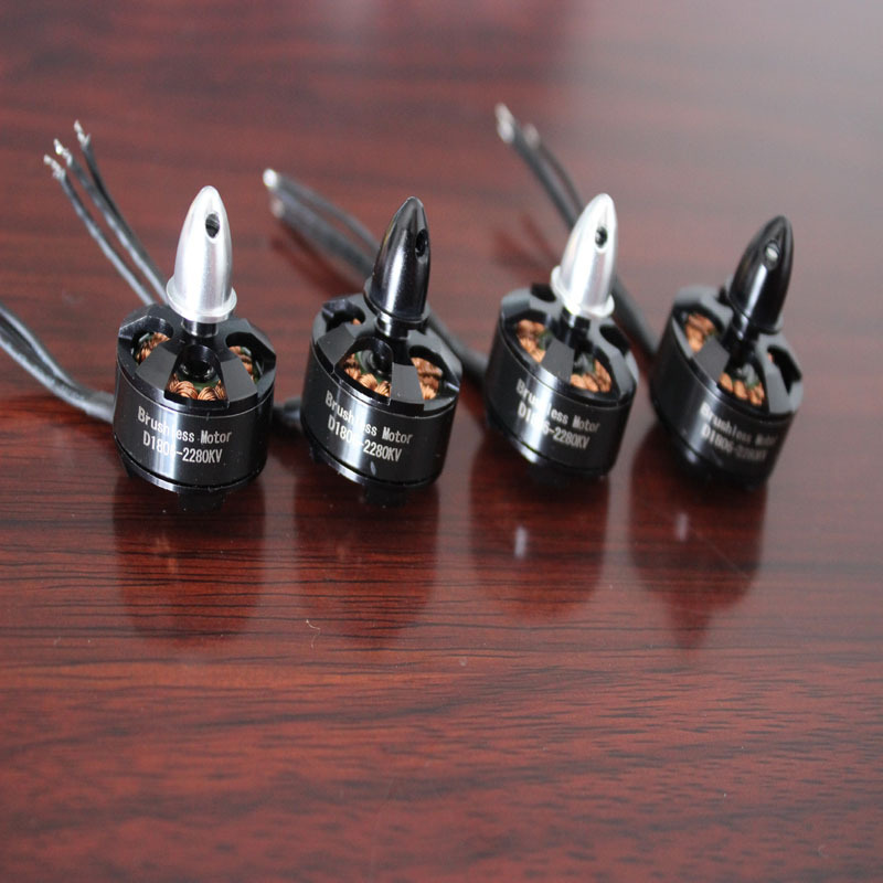 цена на 4x 1806 2280KV CW CCW Brushless Motor for Mini 260 250 200 C250 QAV250 Quadcopter Multicopter