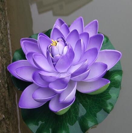 60 cm promjer velika veličina umjetna simulacija cvijet lotosa za - Za blagdane i zabave - Foto 5