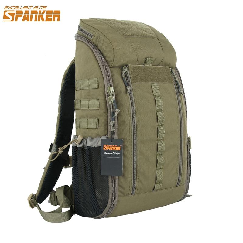Excelente ELITE SPANKER al aire libre táctico MOLLE médico mochila táctico impermeable camuflaje bolsas militar mochila de caza