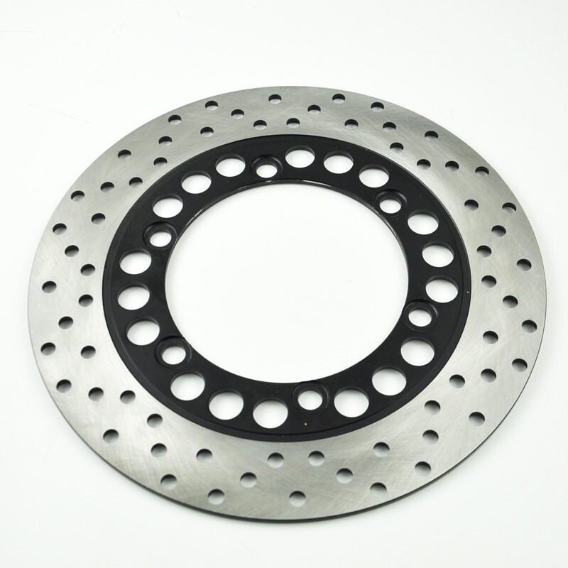 LOPOR Motorcycle Rear Brake Disc Rotor For Yamaha SRX400 SRX-4 XJ400 XJR SRX 400 YZF600R YZF1000 YZF 600 R NEW keoghs motorcycle brake disc brake rotor floating 260mm 82mm diameter cnc for yamaha scooter bws cygnus front disc replace